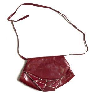Bally Vintage italian Leather Crossbody Bag